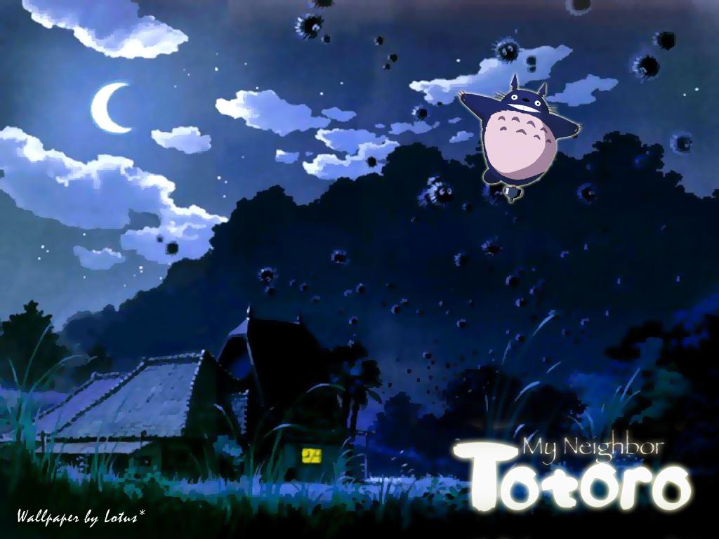 My Neighbor Totoro   Studio Ghibli Wallpaper 27066163 1024x768