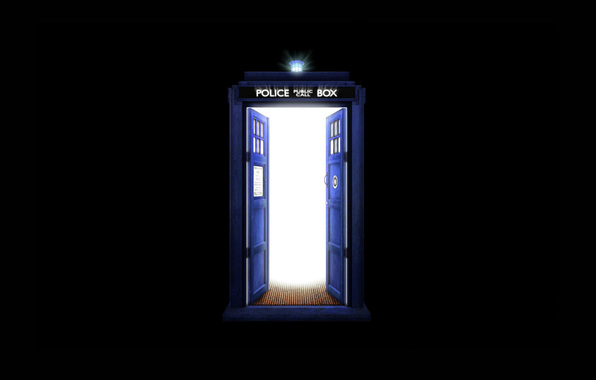 Doctor who doctor who tardis tardis box black background 596x380