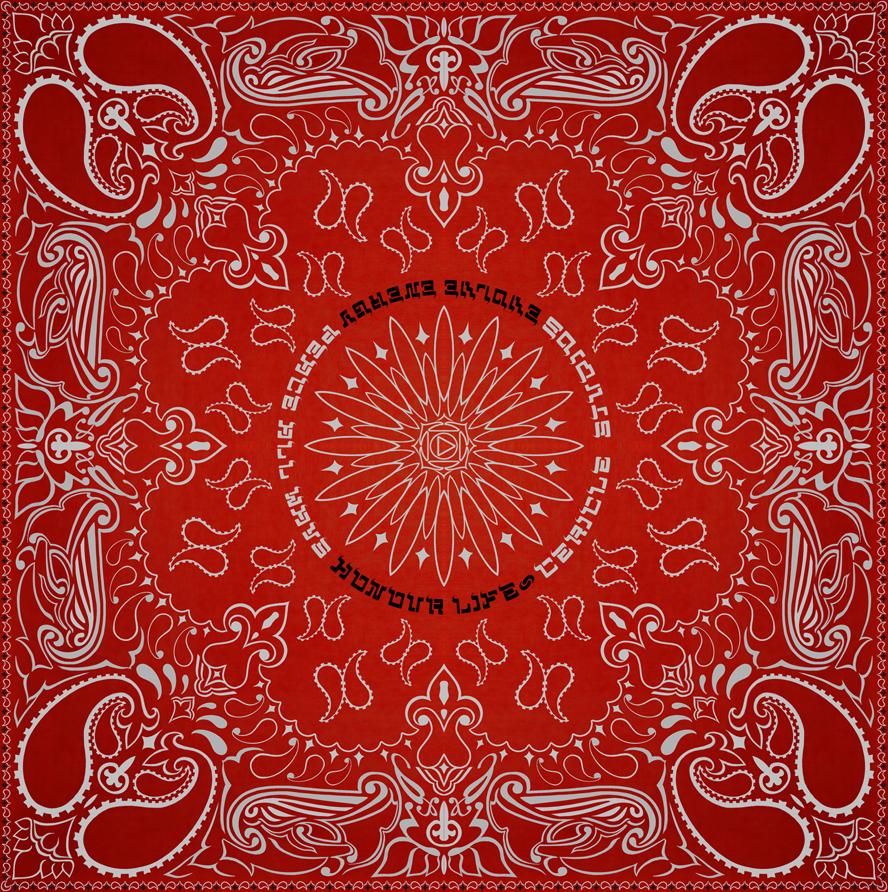Red And Black Bandana Background Red and black bandana 888x892