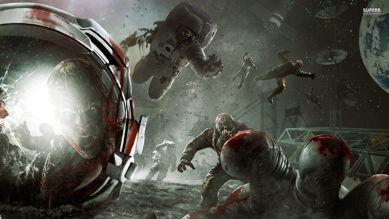 Free Download Wallpapers Call Of Duty Black Ops 2 Zombie Full Hd