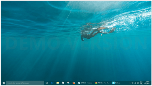 how to change desktop background windows 10 without activation