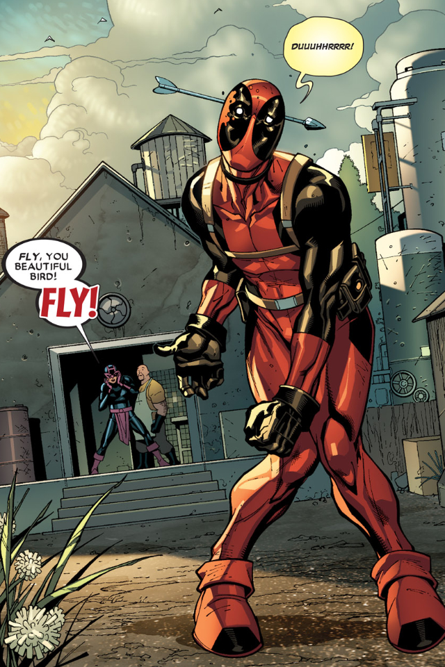 Deadpool Wallpaper 640x960