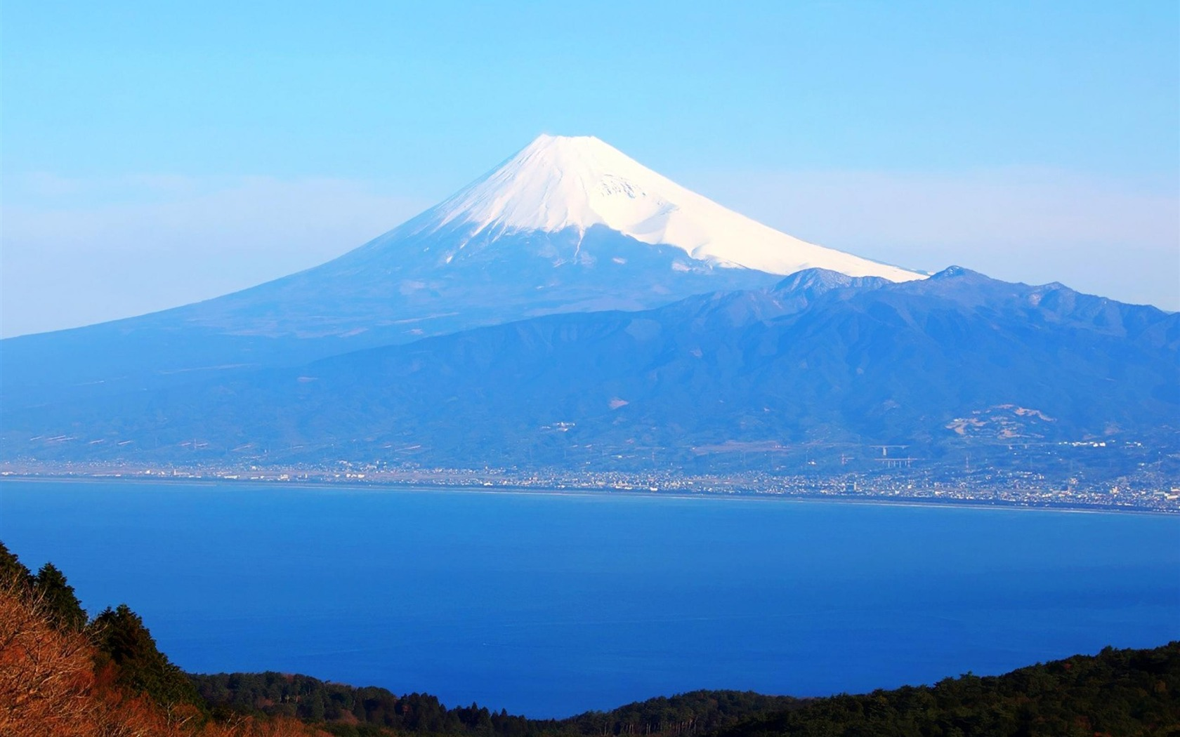 Mt Fuji Japan nature photo wallpaper   1680x1050 wallpaper download 1680x1050