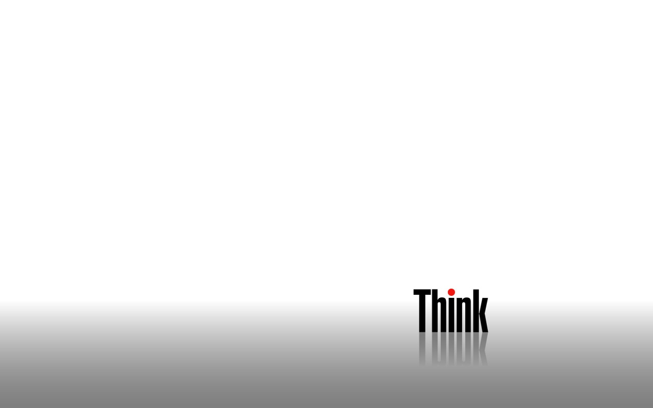 1280x800 Think White desktop PC and Mac wallpaper 1280x800