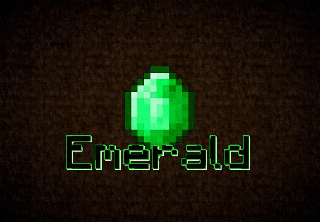 Minecraft Emerald Wallpaper The Emerald Wallpaper 1024x712
