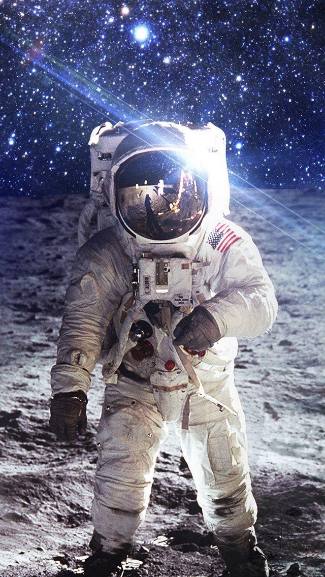 Psychedelic Astronaut Moon wwwpixsharkcom   Images 640x1136