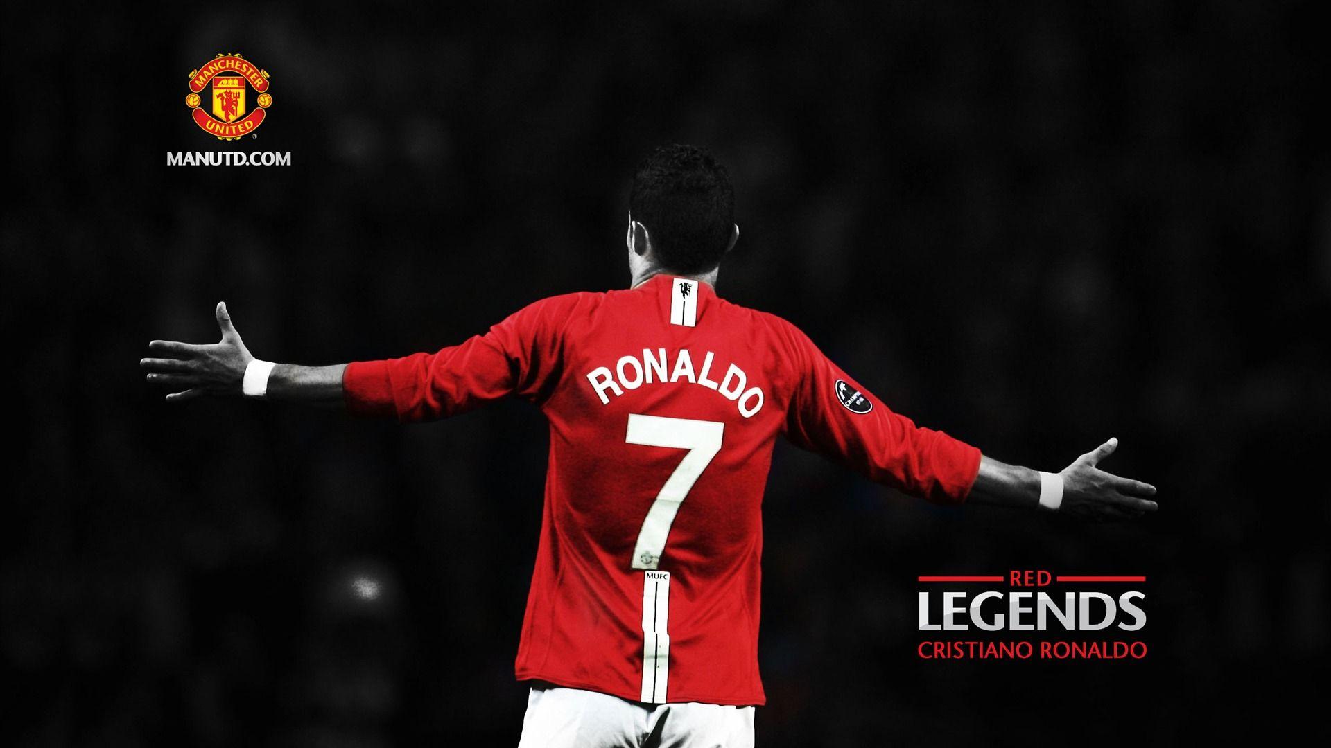 Cristiano Ronaldo Manchester United Hd Wallpaper football 1920x1080