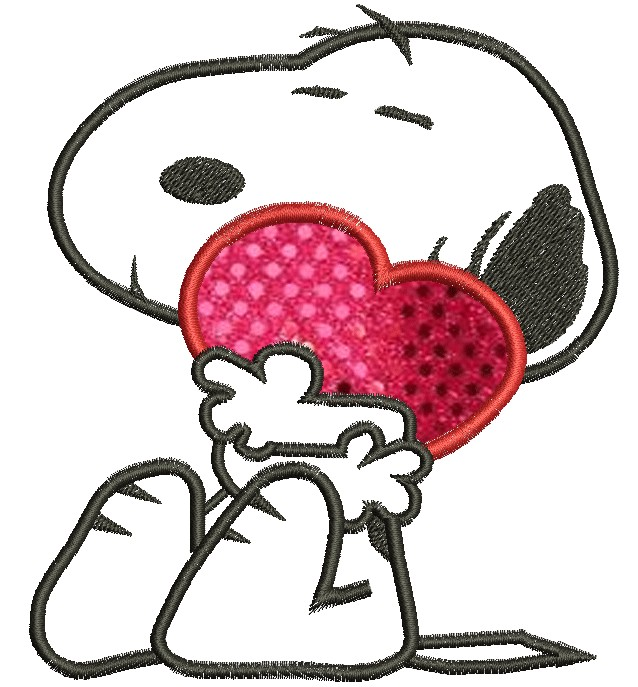Snoopy Valentine Cards Love Heart Snoopy Cards 638x687