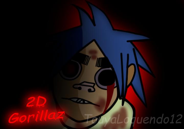 2D Gorillaz Gore by TouyaLoquendo12 720x505