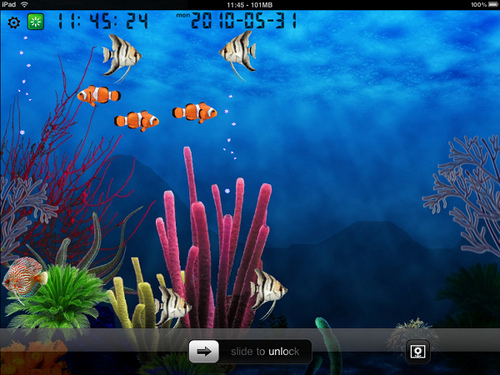 Fish Tank Wallpaper Animated 500x375