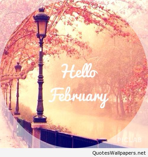 Background Wallpaper Hello February 2016 on imgfave 500x530