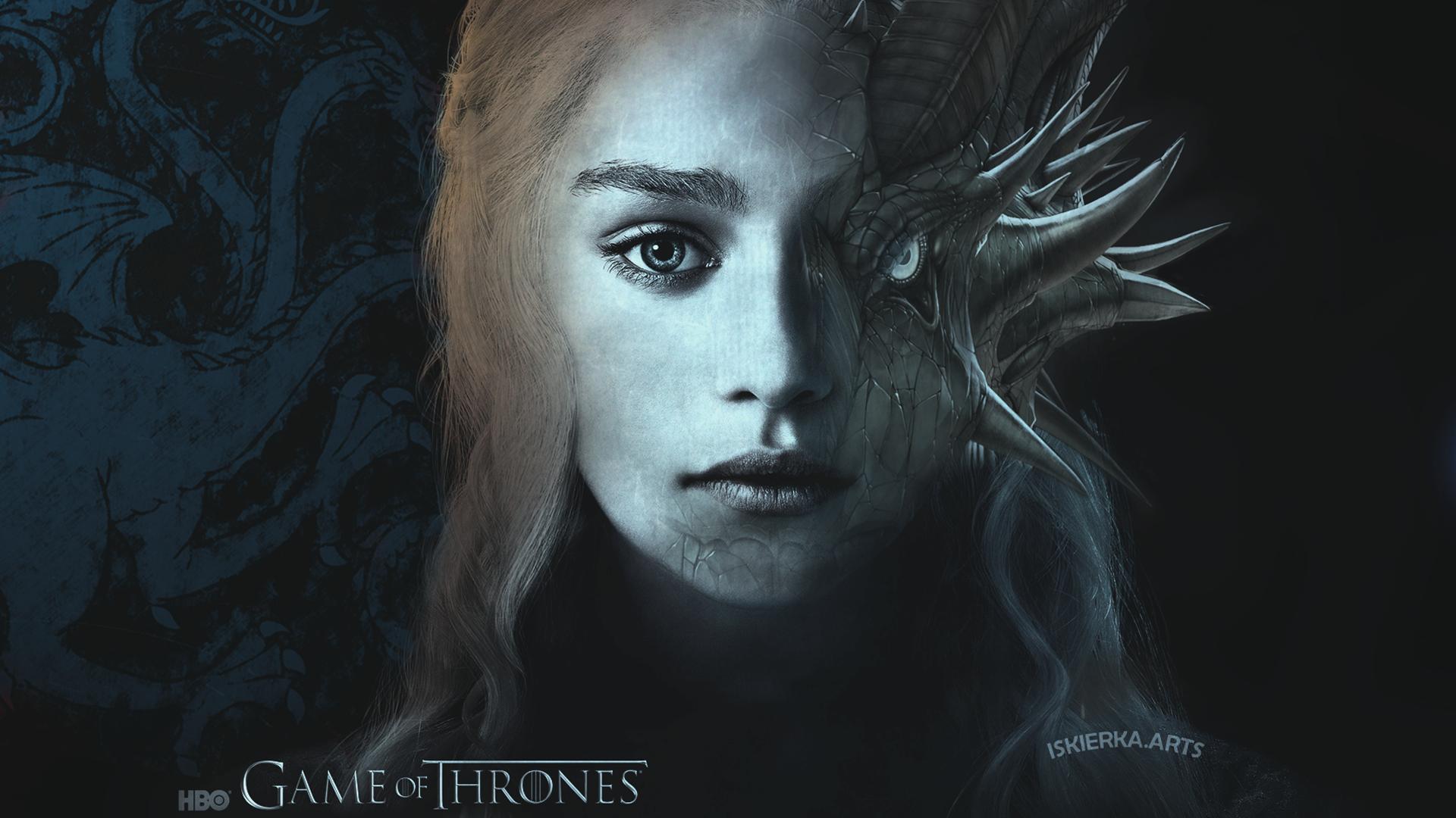 Daenerys Game of Thrones Wallpaper 1920x1080 by Iskierka0 on 1920x1080