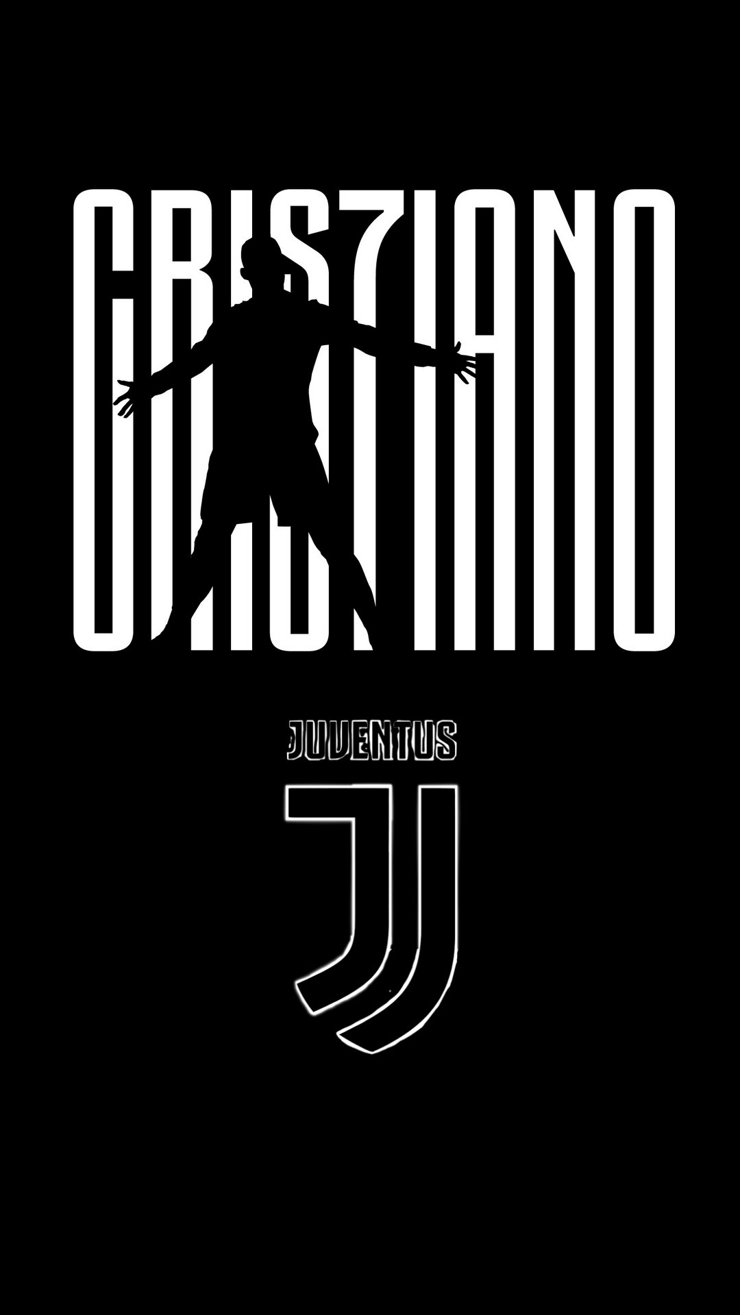 iPhone X Wallpaper C Ronaldo Juventus 2020 3D iPhone Wallpaper 1080x1920