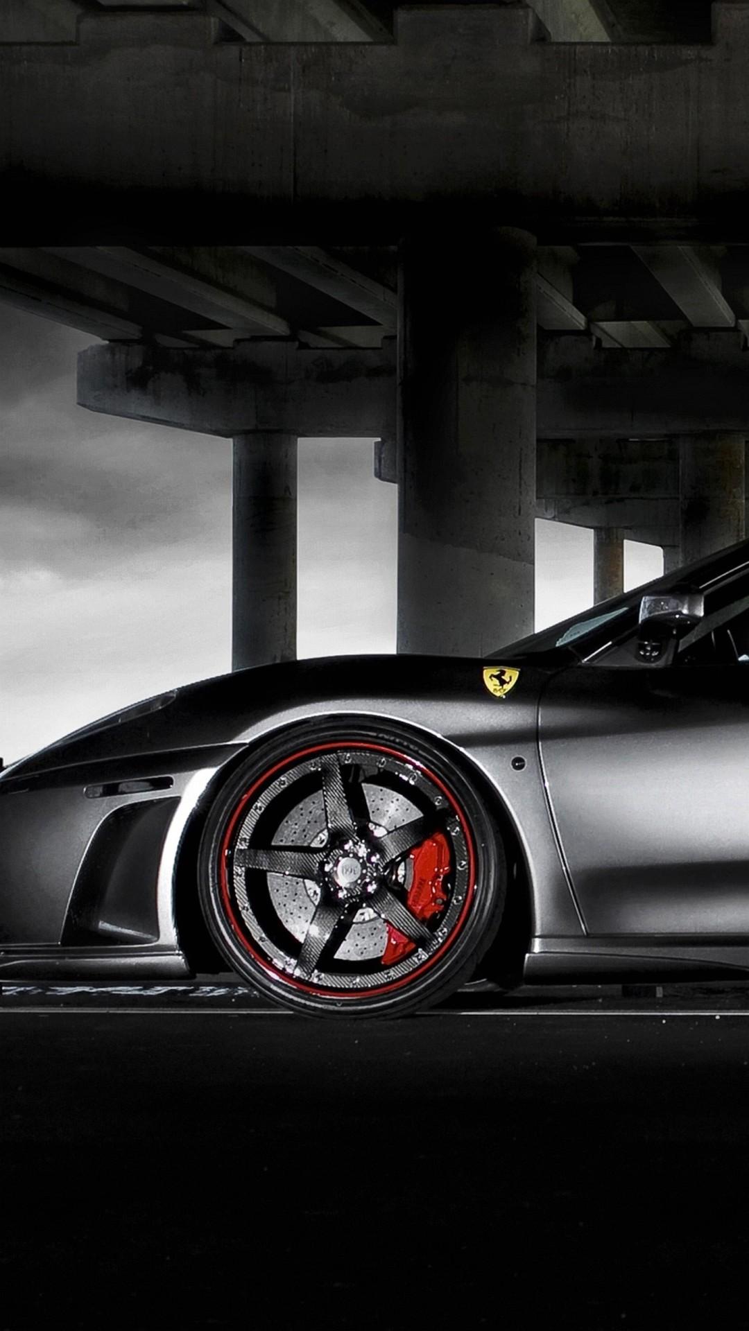 Wallpaper Iphone 6 Plus Ferrari Black 5 5 Inches   1080 x 1920 1080x1920