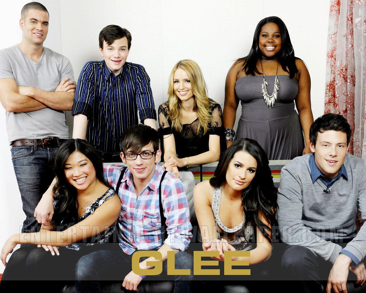 Free Download Glee Cast Wallpaper Glee Wallpaper 11658655