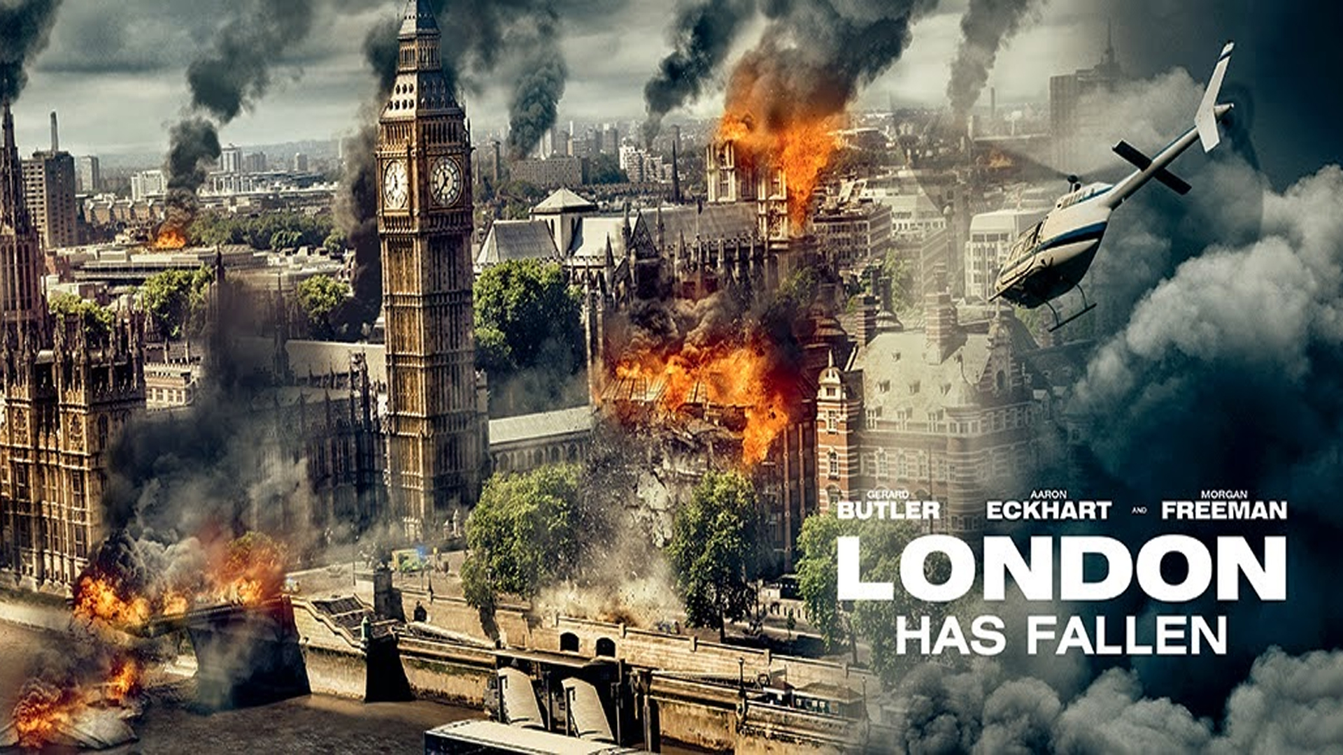 ACTION THRILLER FILM LONDON HAS FALLEN HAS MOVED TO 2016 Film 1920x1080