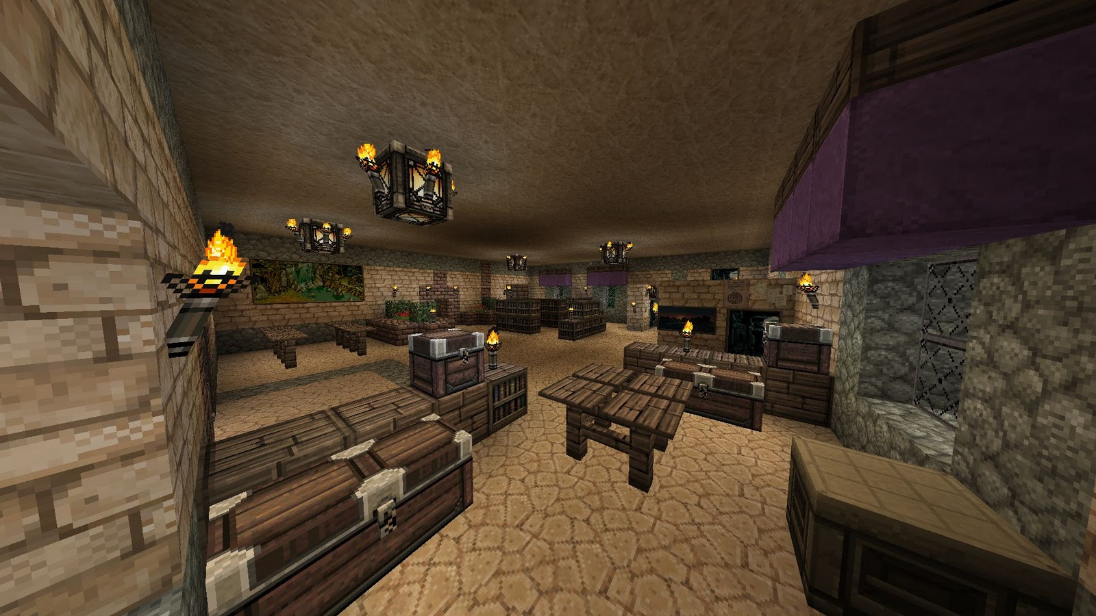 Free Download Minecraft Living Room Ideas For Bedroom