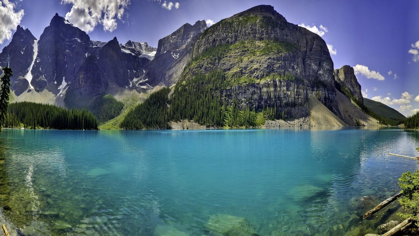 Moraine Lake Canada wallpaper 4180 1366x768