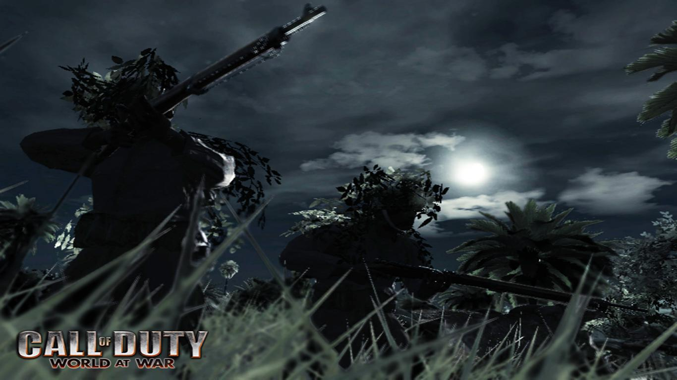 Call Of Duty 5 Wallpaper 11547 Hd Wallpapers in Games   Imagescicom 1366x768