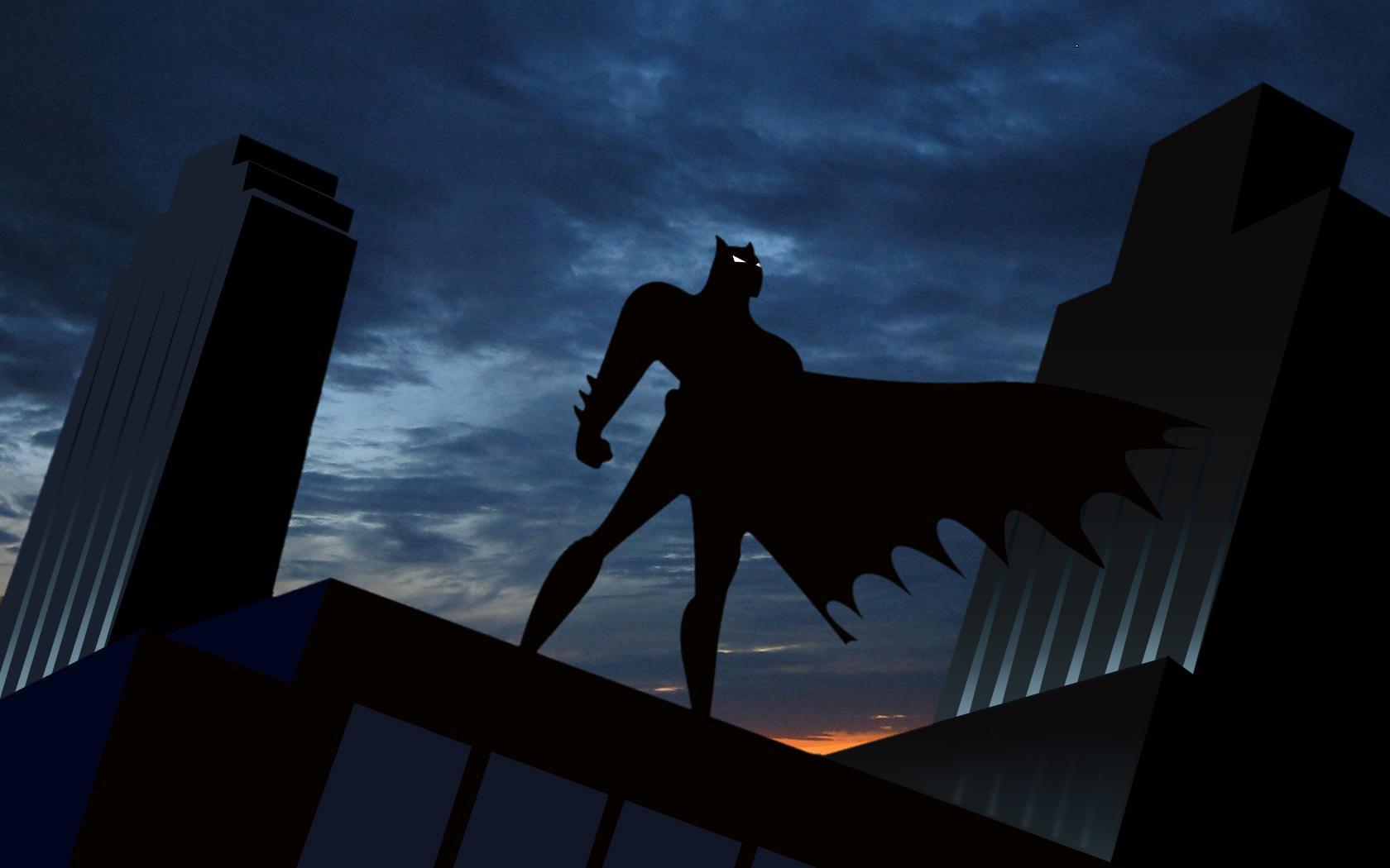 batman animated series wallpaper wallpapersafari