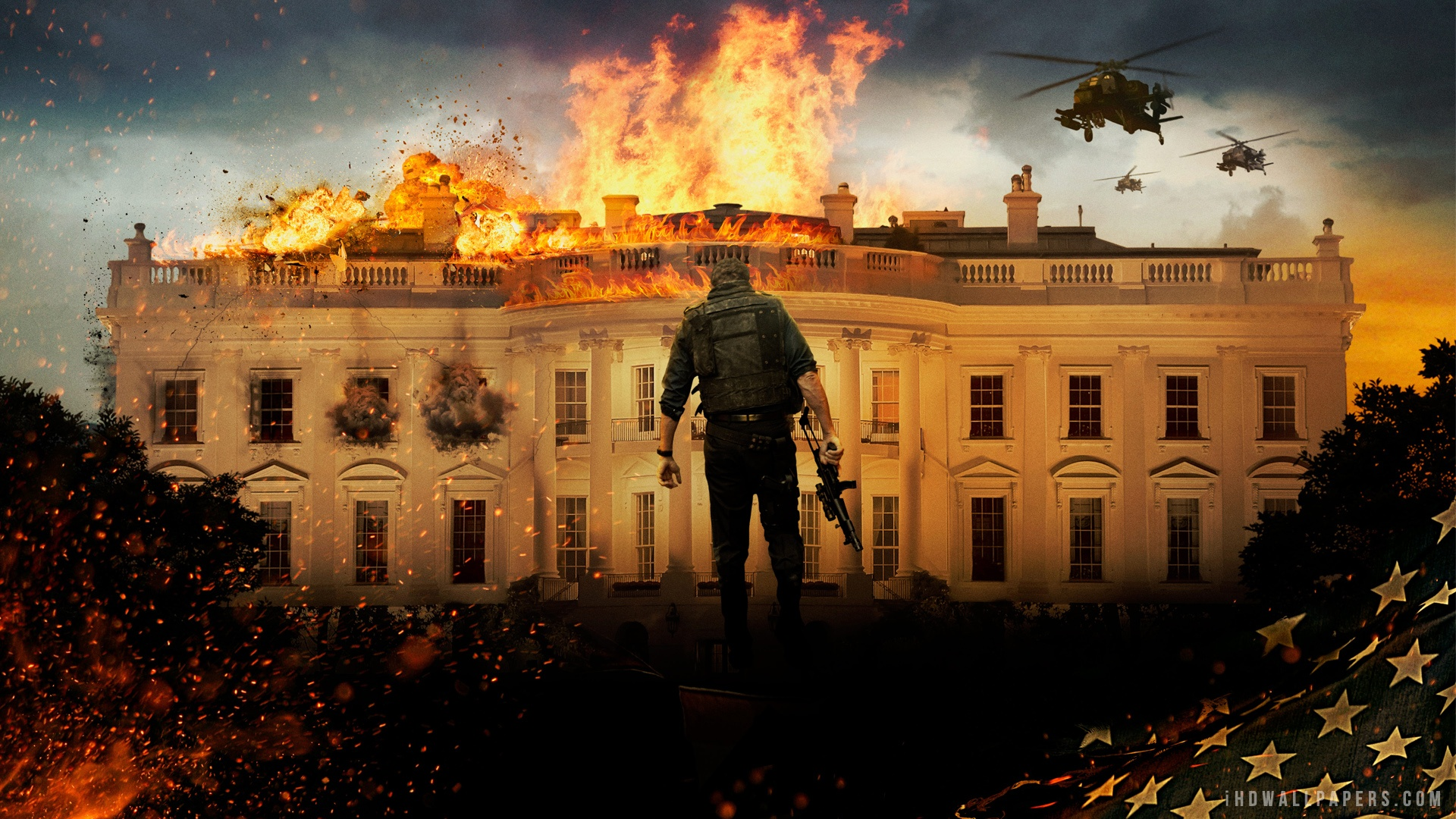 Olympus Has Fallen 2013 HD Wallpaper   iHD Wallpapers 1920x1080