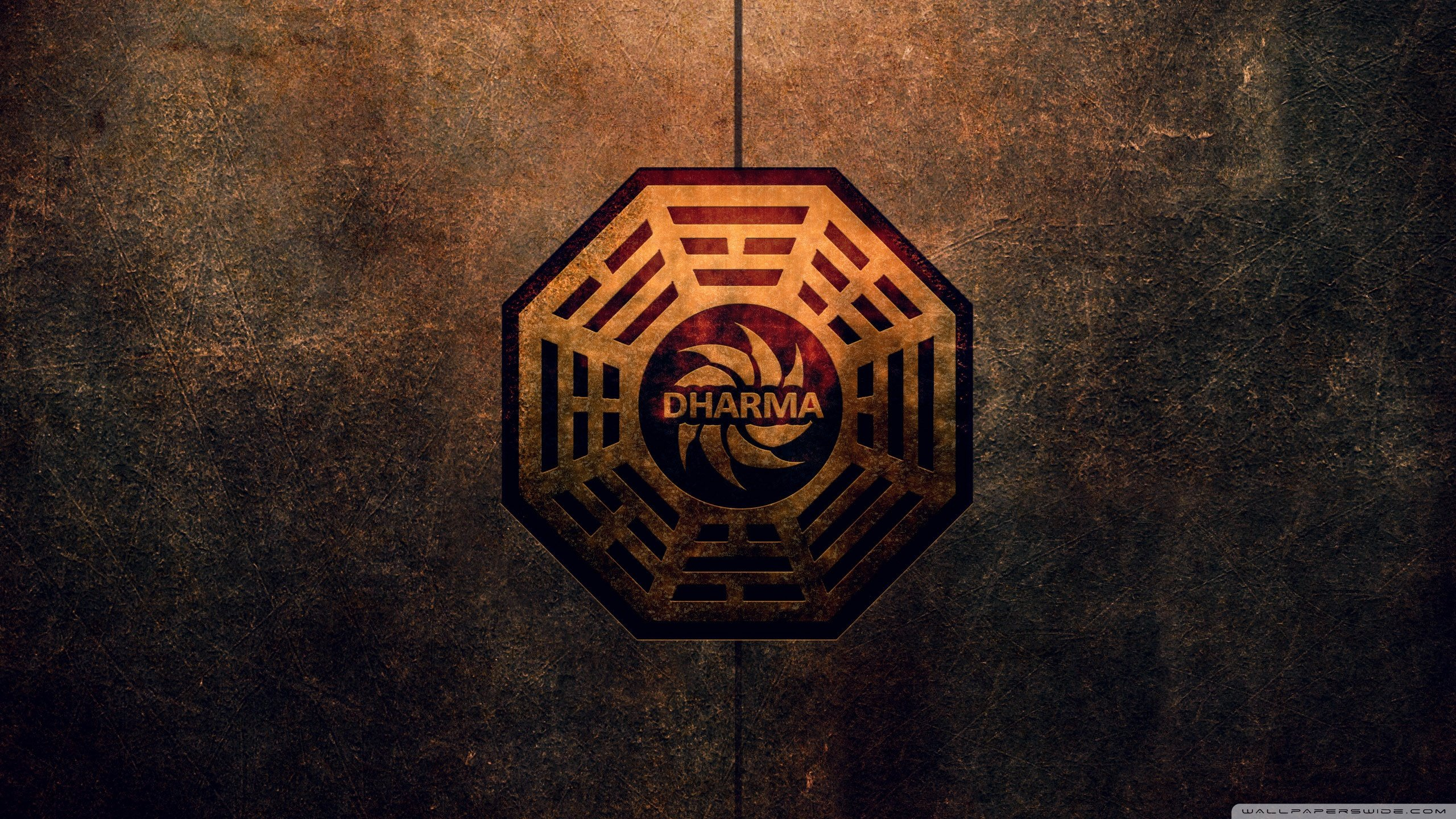 Dharma Initiative Logo 4K HD Desktop Wallpaper for 4K Ultra HD 2560x1440