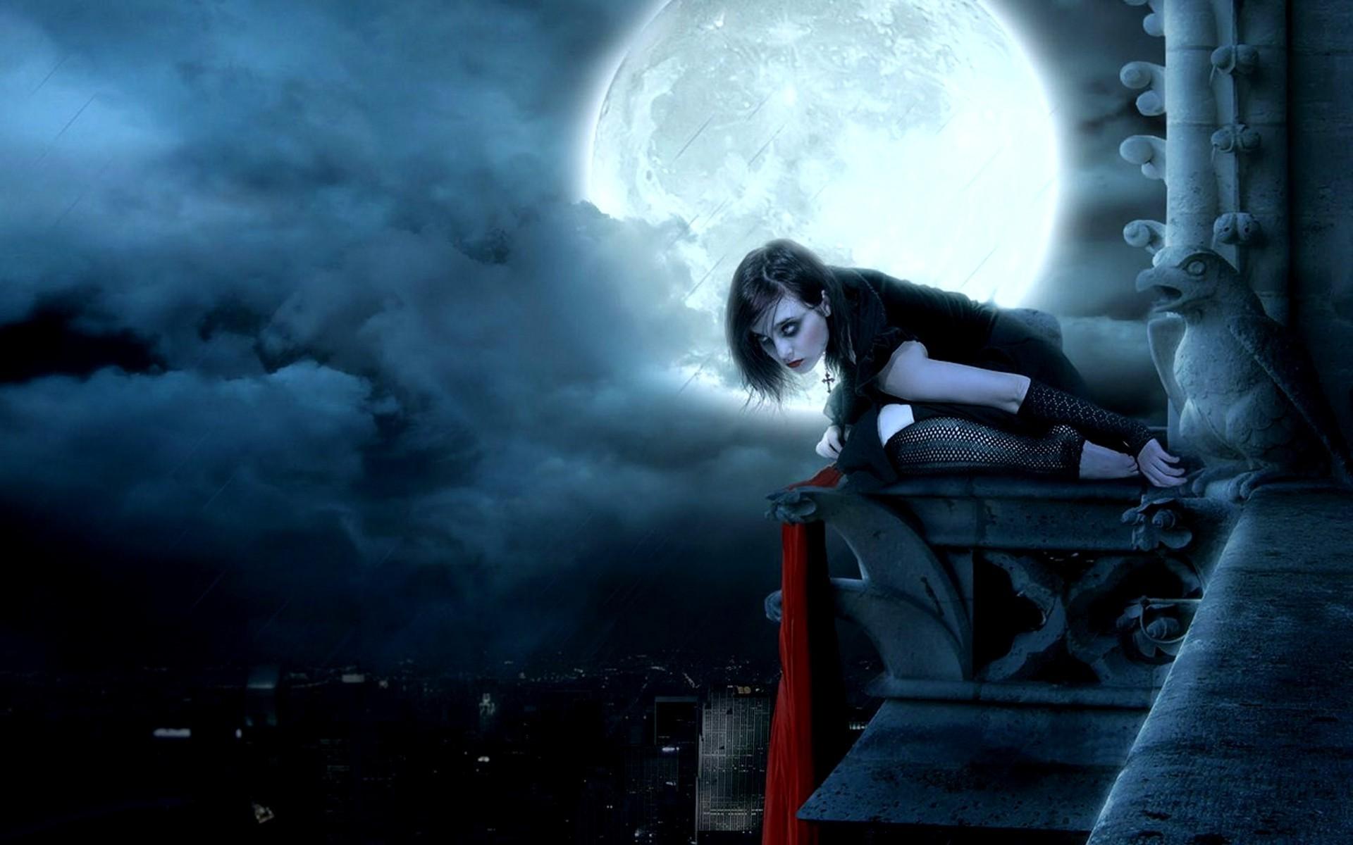 Cat Black Gothique
