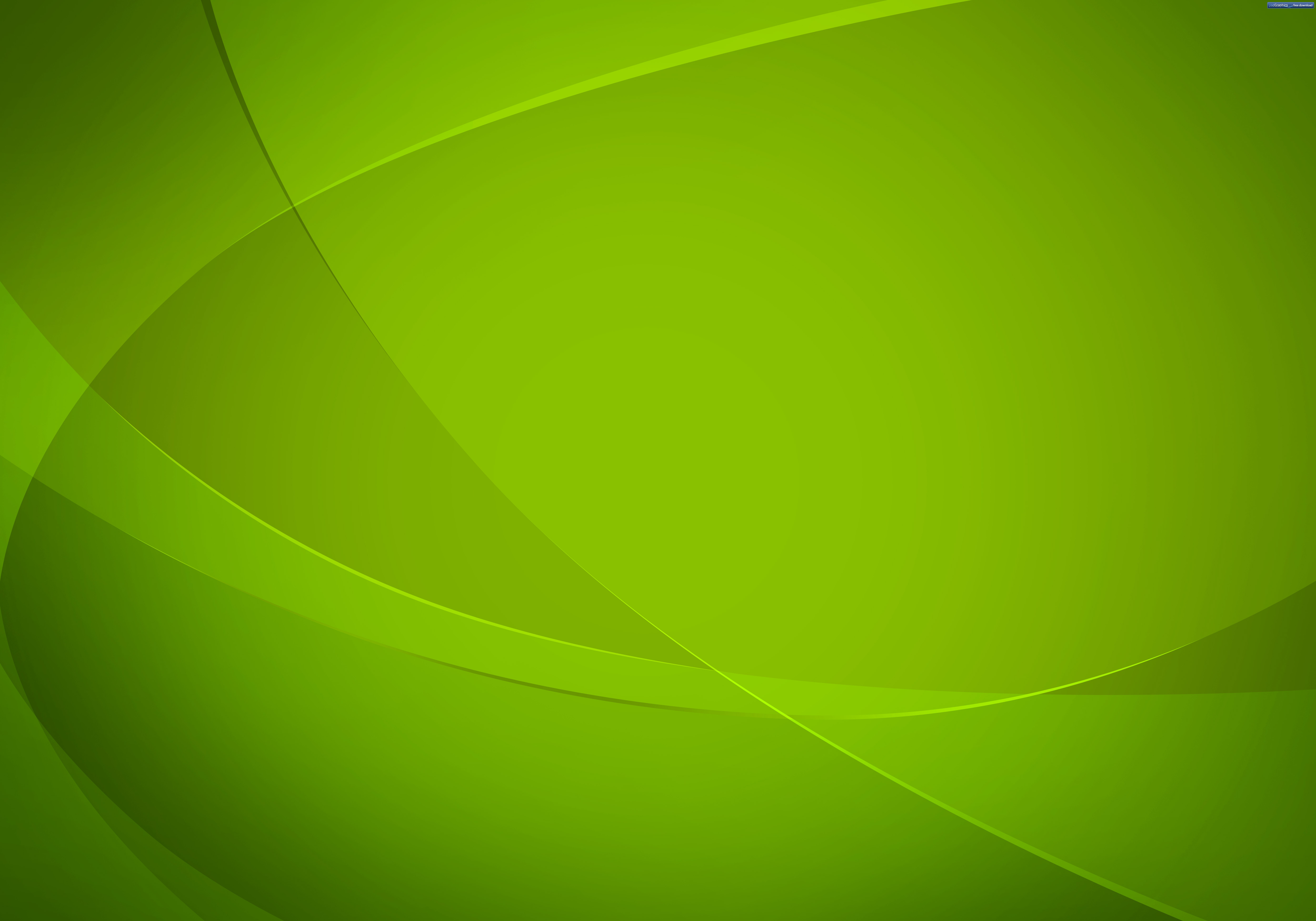 Green abstract background PSDGraphics 5000x3500