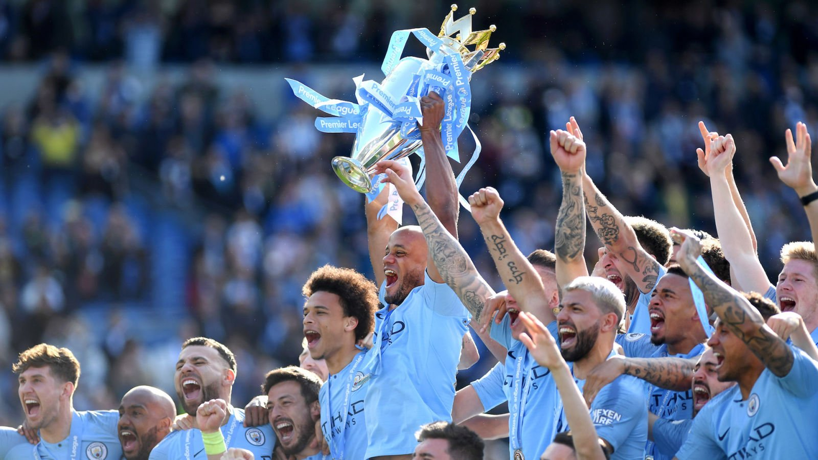 Manchester City Crowned Champions Of Tightest Premier League Title 1600x900
