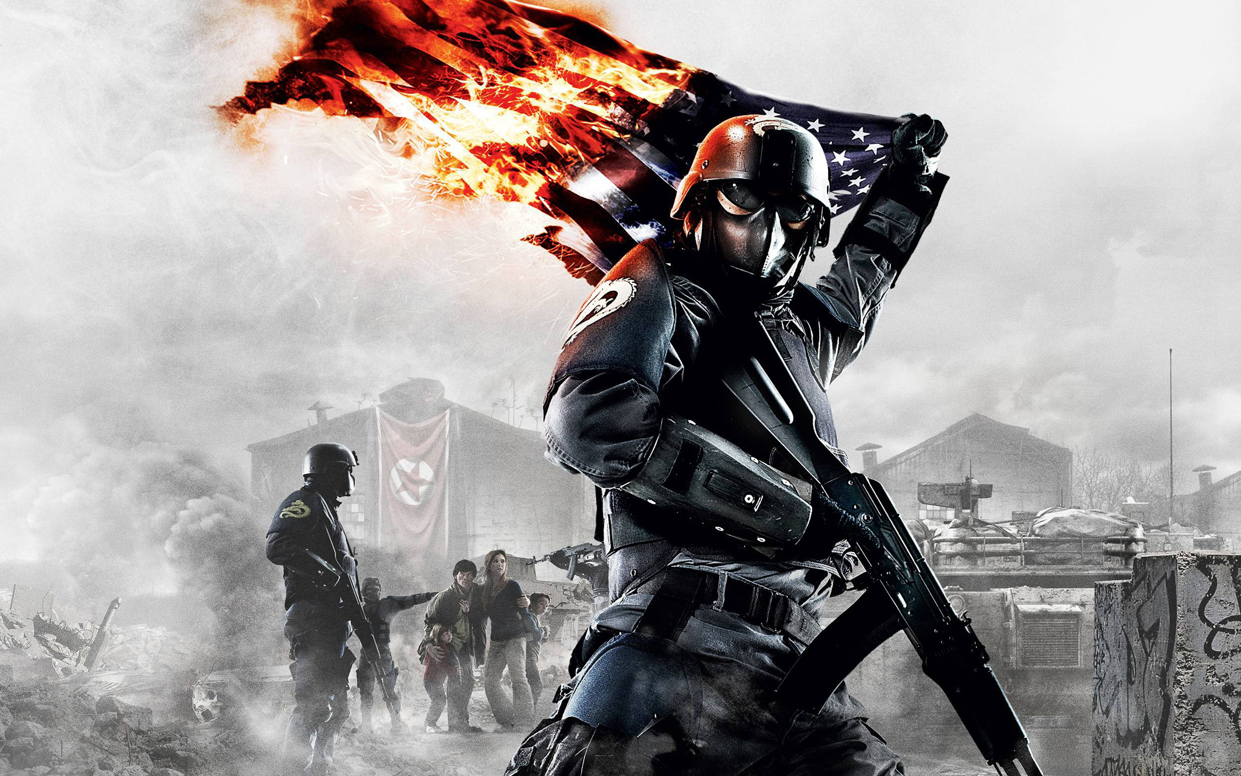 Homefront US Flag Wallpapers HD Wallpapers 2560x1600