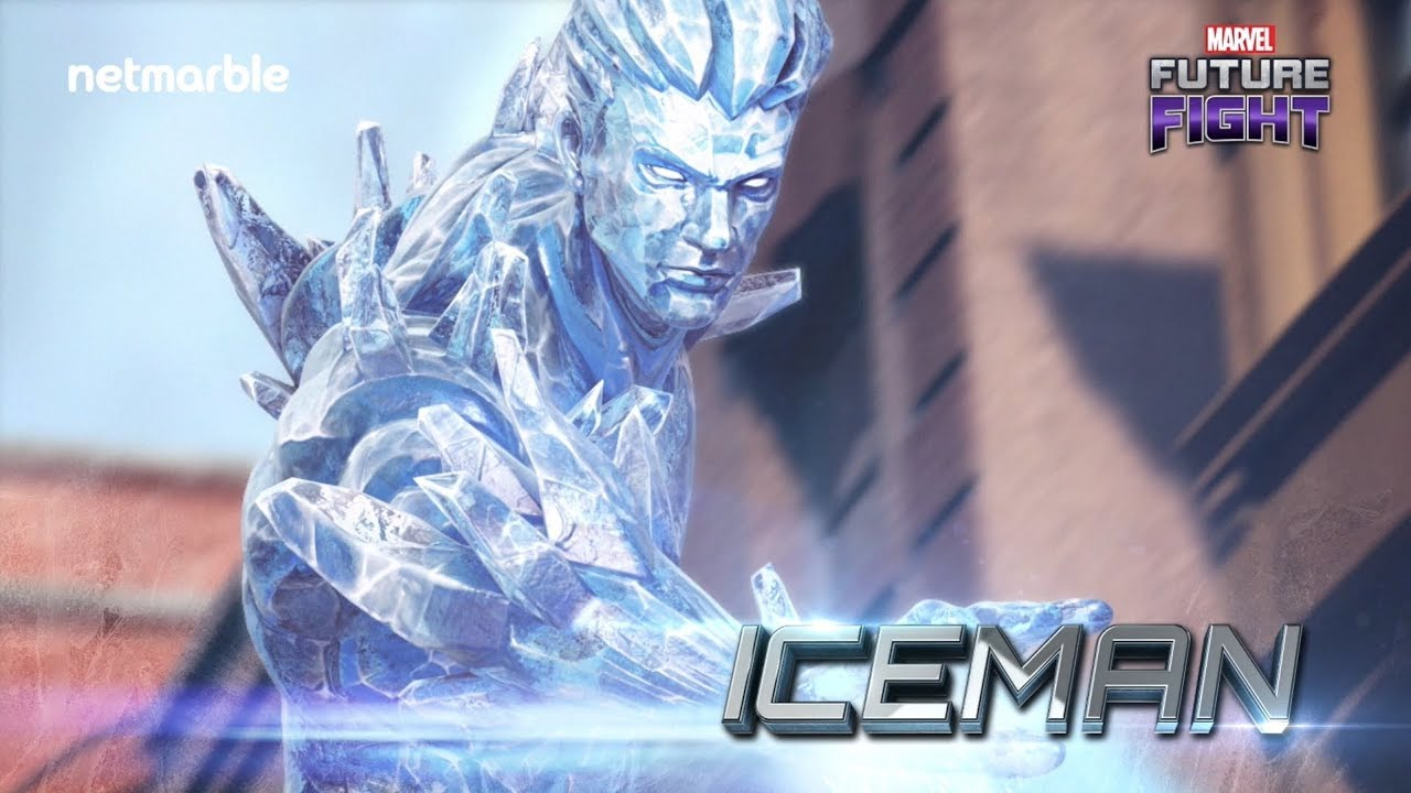 Marvel Future Fight Iceman Hd Wallpapers backgrounds Download 1280x720
