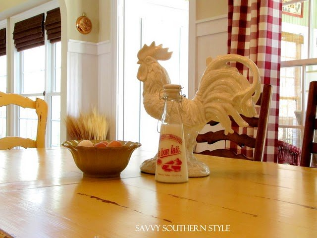 French Country Rooster Print The Little Brown House 640x480