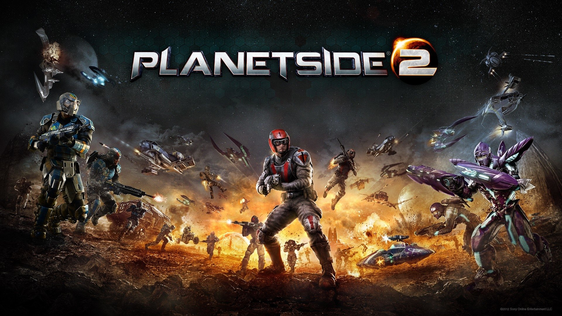 33 Planetside 2 HD Wallpapers Background Images 1920x1080