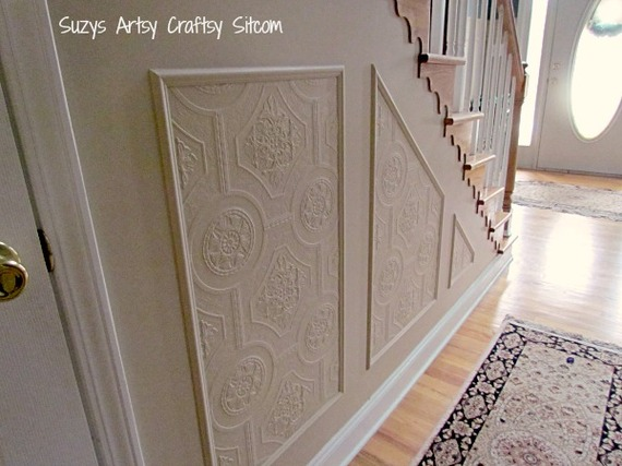 11 Surprising Uses for Wallpaper Around The House Hometalk 570x427