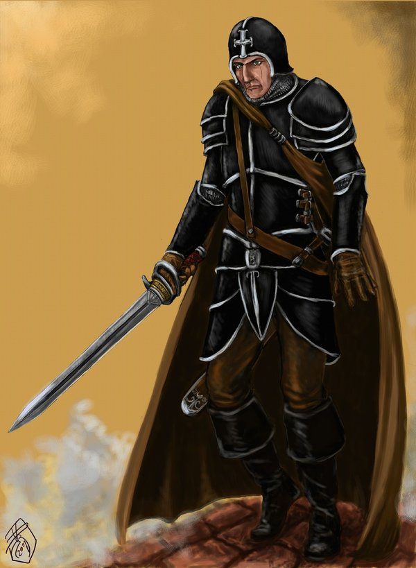 Renaissance Knight by Crowsrock 600x819