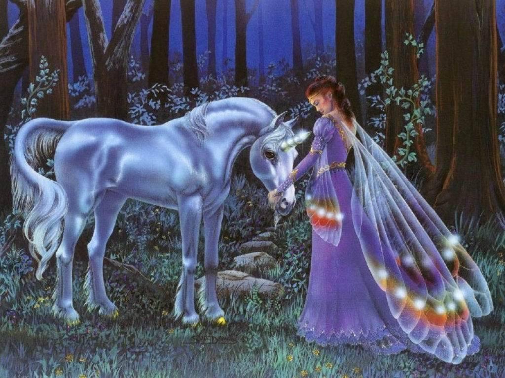 Unicorns images Unicorn and Fairy Wallpaper wallpaper photos 6348903 1024x768