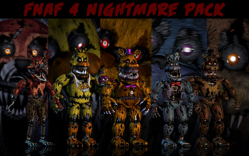 FNAF 4 Wallpaper Pack Updated by xquietlittleartistx 792x497