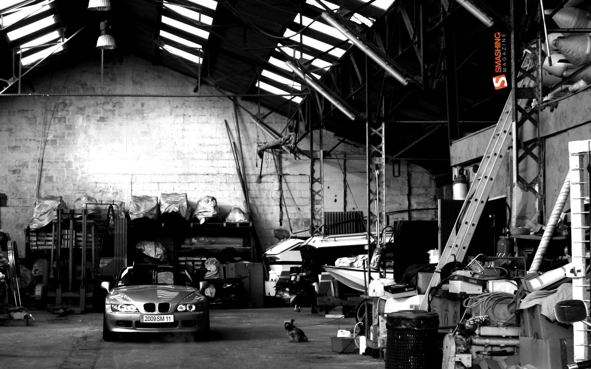 Garage Wallpaper Wallpapersafari