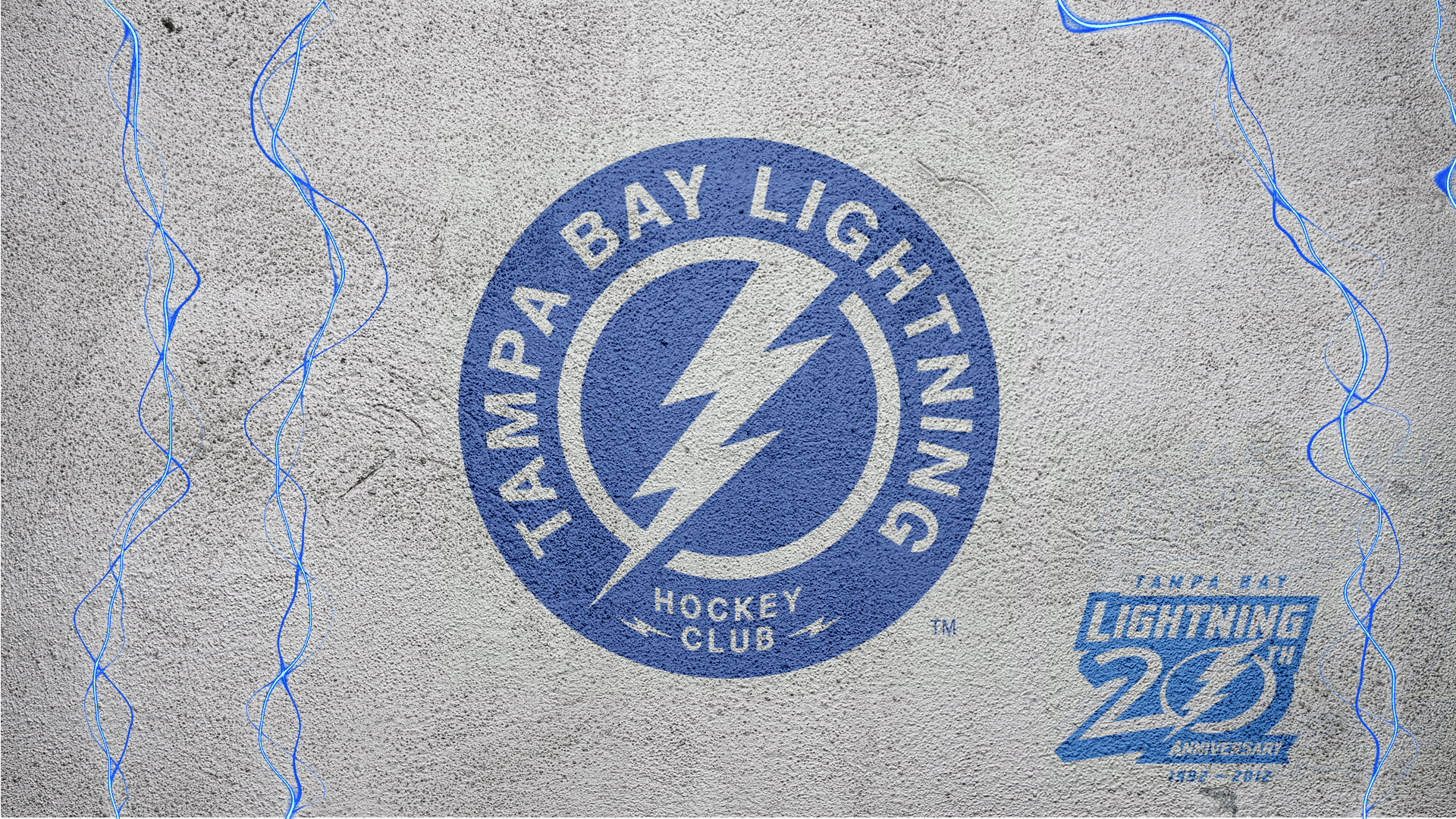 NHL Tampa Bay Lightning Shoulder Logo 2012 by Realyze 1920x1080