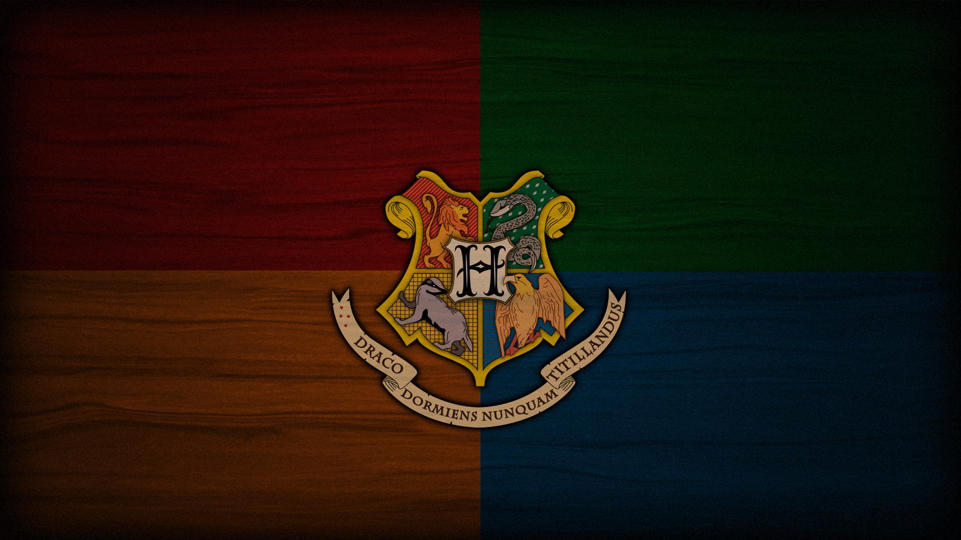 hogwarts crest wallpaper  Books Pinterest 1920x1080