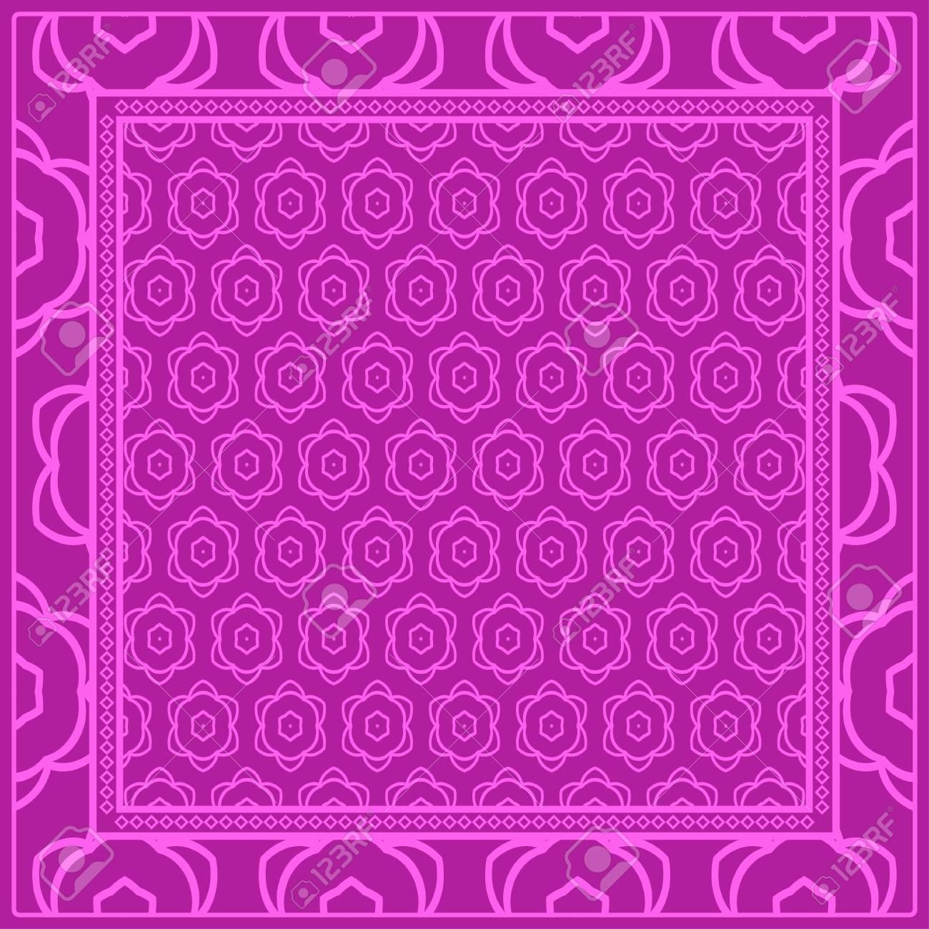 Geometric Ornament With Frame Border Art deco Background 1300x1300