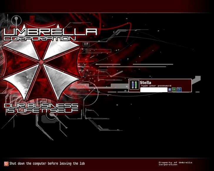 Stars Logo Resident Evil Wallpaper Guns Stars Resident Evil 728x582