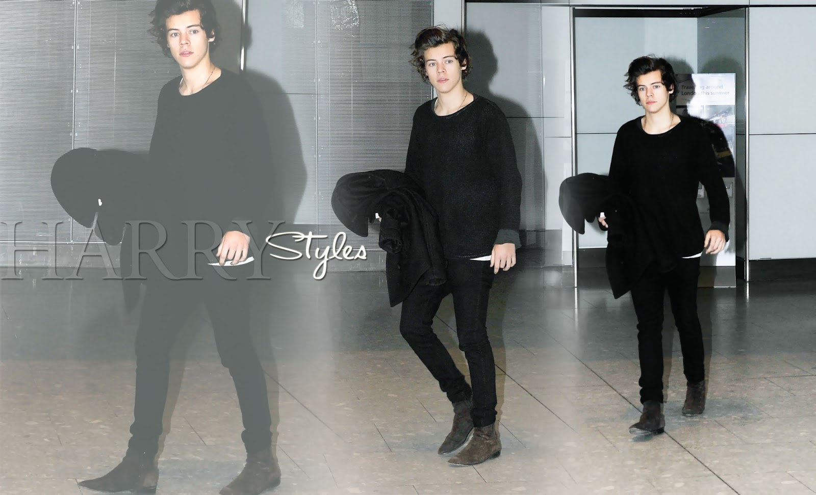 Harry Styles Wallpapers Harry Styles HQ 2013 Candids Wallpapers 1600x971