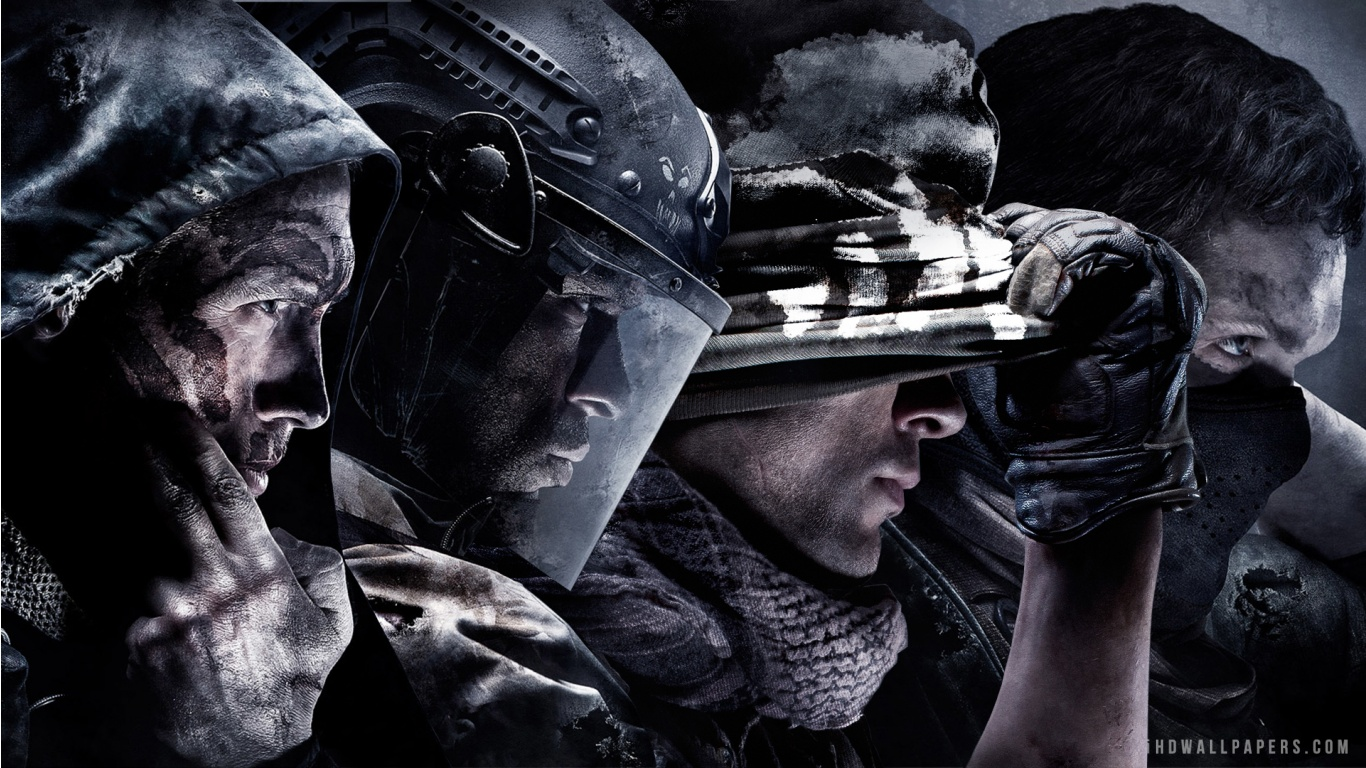 Call of Duty Ghosts 2 HD Wallpaper   iHD Wallpapers 1366x768