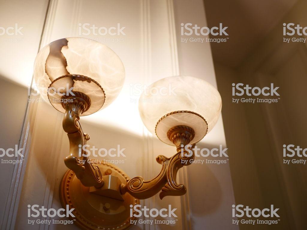 Lighting Fixture Patterened Wallpaper Stock Photo   Download Image 1024x769