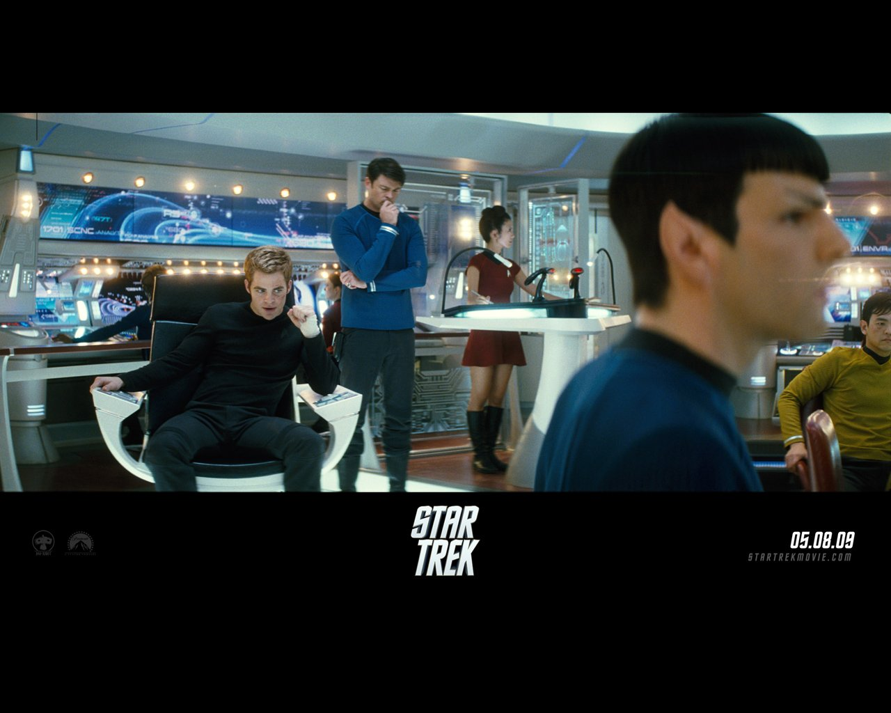 Star Trek 2009 wallpaper   FreeMovieWallpapersorg 1280x1024