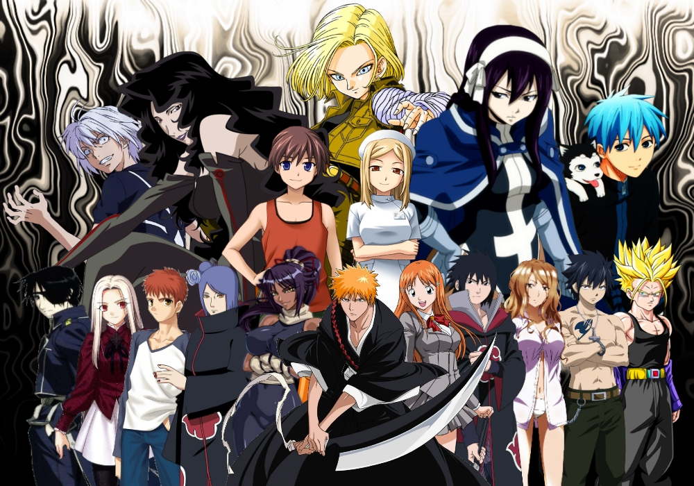 Anime Characters Hd : All anime characters hd wallpaper wallpapersafari