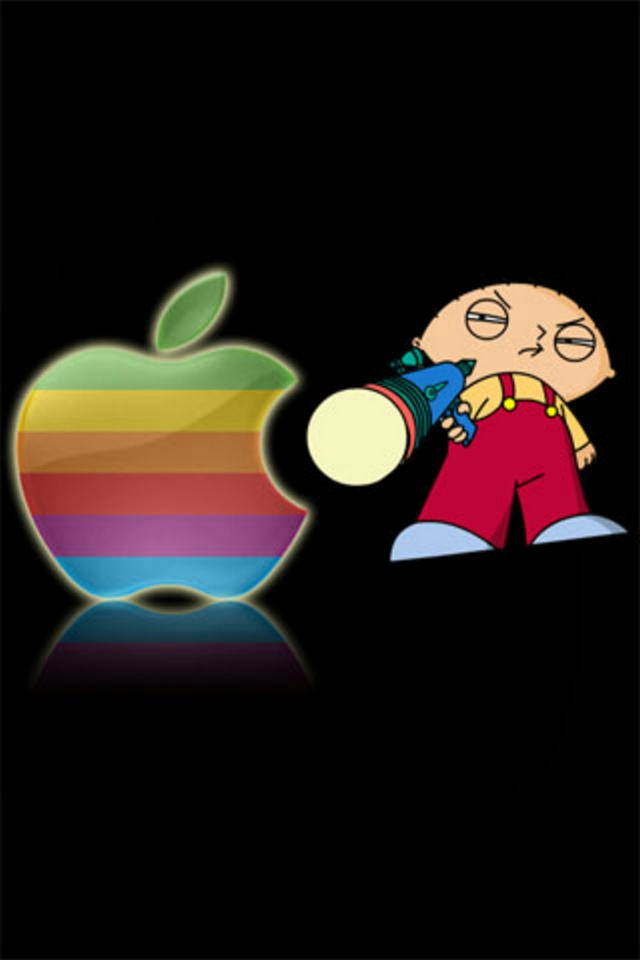 Stewie iPod Touch Wallpaper Background and Theme 640x960