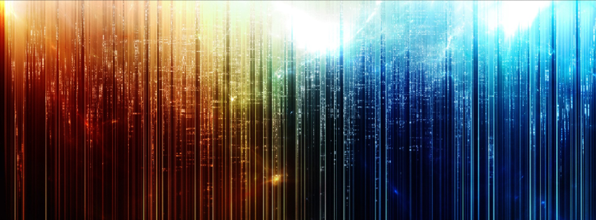 timeline covers 1 colorful abstract effect facebook timeline cover 851x315