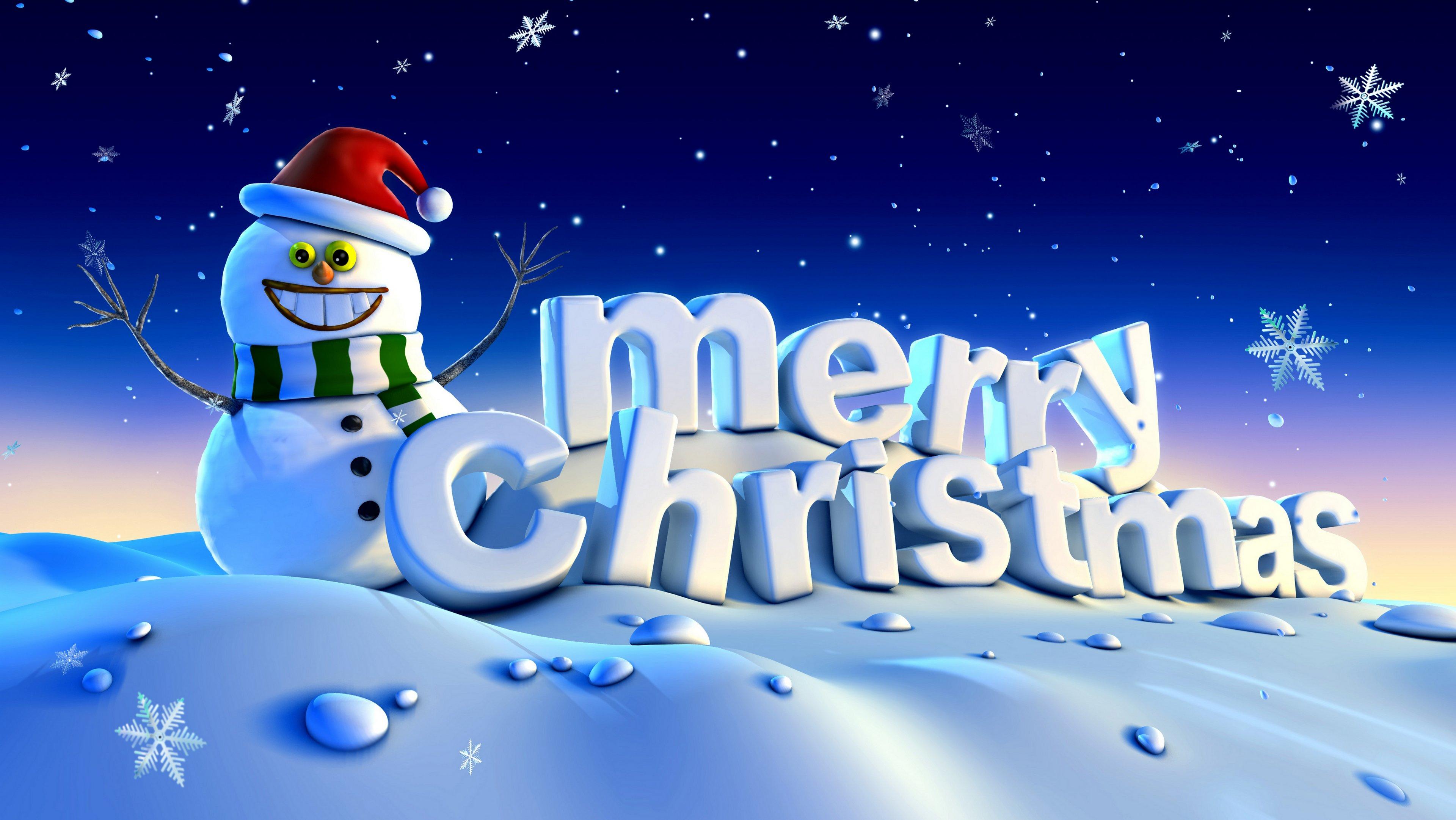 20 Beautiful Christmas Desktop Wallpaper Backgrounds 3840x2163